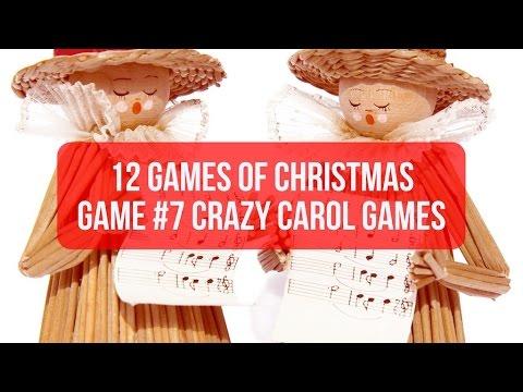 Christmas Party Game #7 Crazy Carol Games