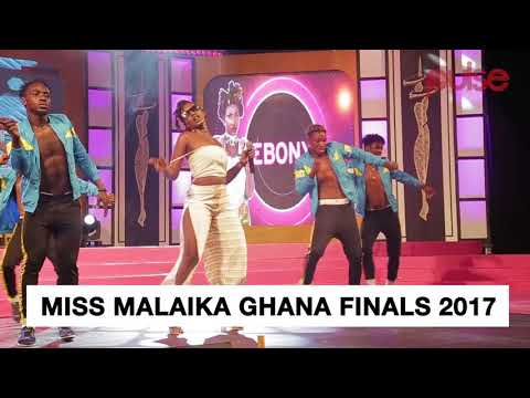 Highlight: EBONY ROCKS THE STAGE AT MISS MALAIKA GHANA FINALS 2017  | Pulse Events