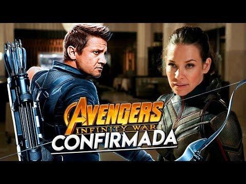 ¡THE WASP (La Avispa) Confirmada en INFINITY WAR! ¿Y Hawkeye? - Avengers Infinity War Trailer #2