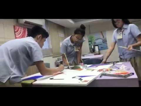 FundART - Cubism Painting - Abigail, Ariel, Edgar, Fico, Kinar 11AB7 & Darryl 11SB2