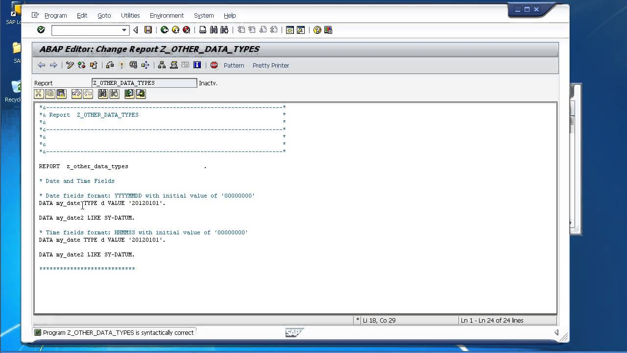 beginners guide learn sap abap working with date and time rh youtube com SAP ABAP Jobs sap abap beginners guide