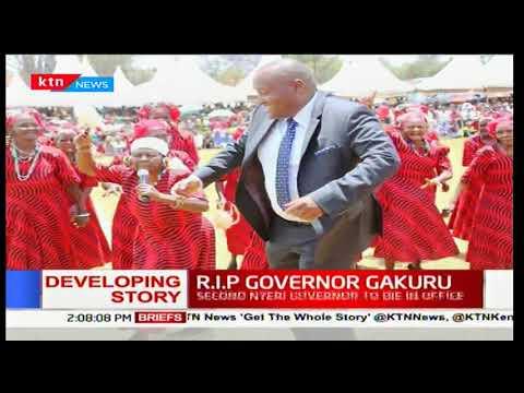 Life and times of Late Dr. Wahome Gakuru