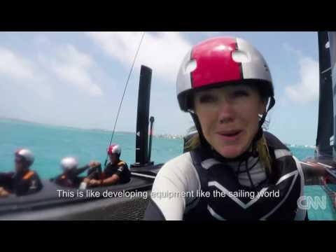 CNN Mainsail, Shirley Robertson - Designing the perfect AC50
