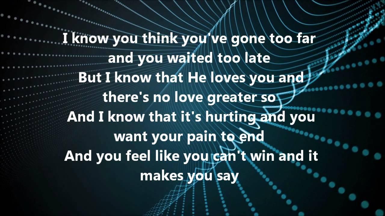 You Are Loved Cece Winans Lyrics