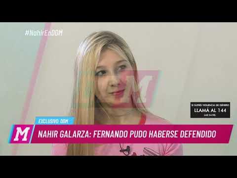Nahir Galarza se quedó muda ante una pregunta de Mariana sobre la muerte de Fernando Pastorizzo