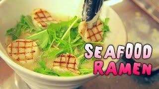 【Tokyo Ramen Ep.13】SEAFOOD RAMEN #tokyoextra #東京EXTRA
