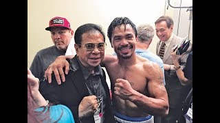 Floyd Mayweather calls Chavit Singson the Godfather