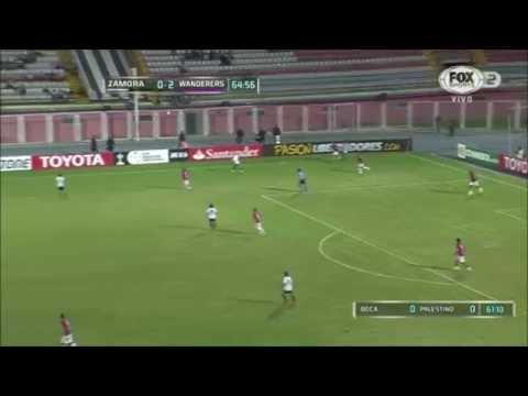 Zamora 0 - 3 Montevideo Wanderers Copa Libertadores 2015