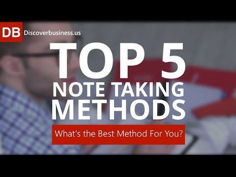 Top 5 Note Taking Strategies: What's The Best Note Taking Method for You?