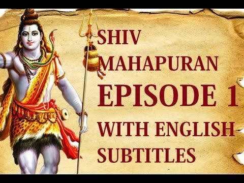 Shiv Mahapuran English Subtitles I  Episode 1 Shrishti Utpatti ~ The Origin Of Life