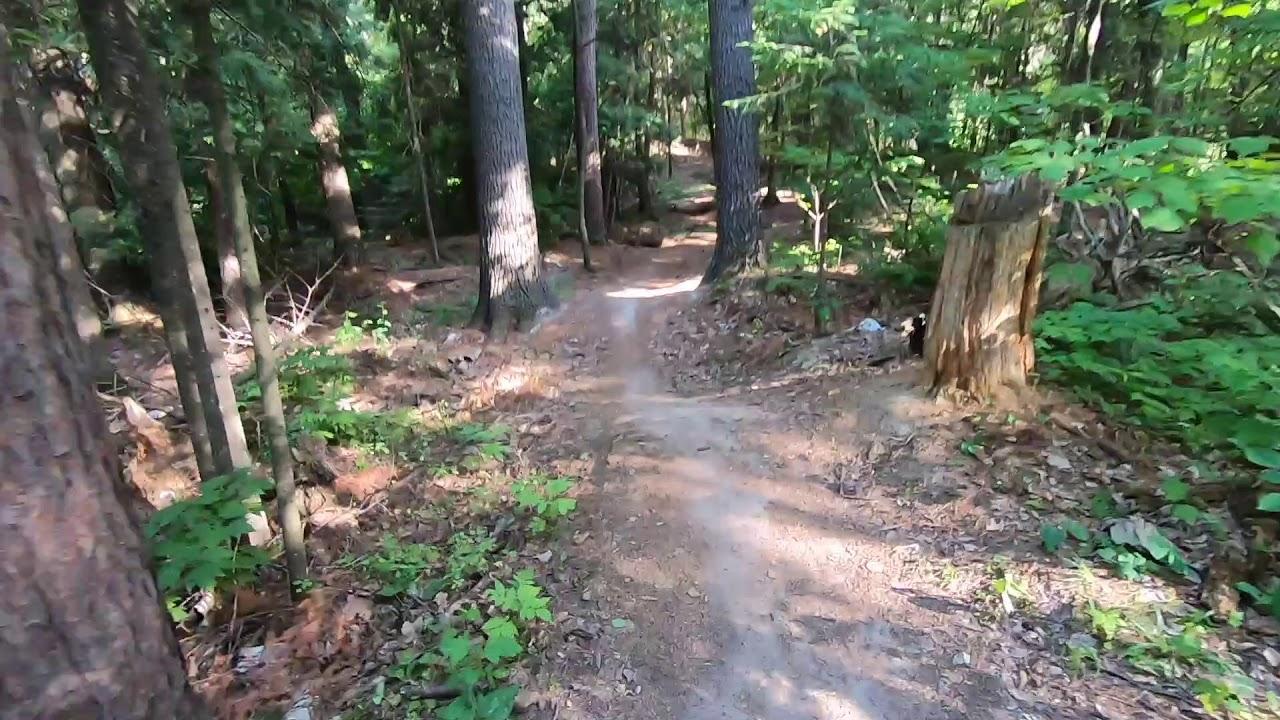 Mountain biking at Pine Valley - YouTube