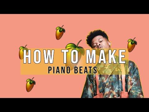 How To Nasty C X Drake type beat using FL Studio Pianos Only   Fl Studio Trap & Rap Tutorial (2019)