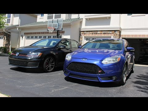 Focus St Vs Gti >> Which Is Faster Ford Focus St Vs Volkswagen Golf Gti
