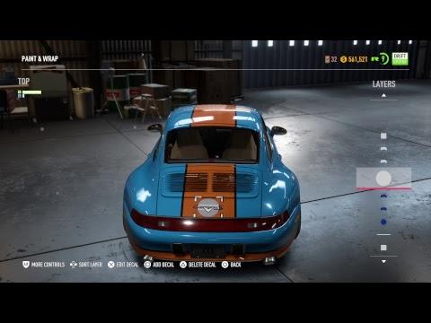 Gulf Porsche NFS PAYBACK