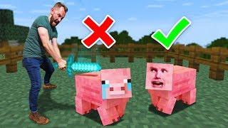 Animal Prop Hunt Challenge! | Minecraft