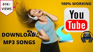 How to download the mp3 song for pc