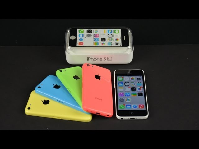 iPhone 5C - Apple iPhone 5c: Unboxing, Demo, & Benchmarks
