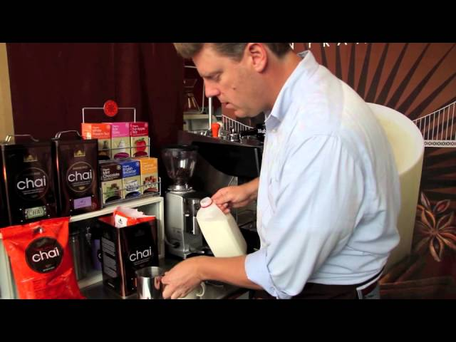 "Office Barista Series - How To Make a David Rio ""Dirty"" Chai - with Tiger Spice Chai® & Espresso"