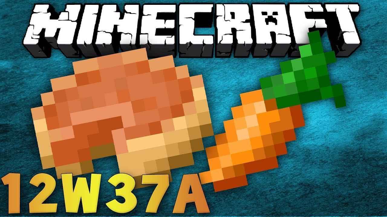 Minecraft Snapshot 12w37a 1 4 Kurbiskuchen Superflat Customizer
