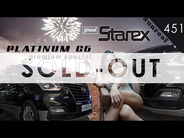🚘 2020 Grand Starex Urban Platinum G6 @ ₱ 3.4 M (Available Cars On hand_Autoaccess#451) Sold
