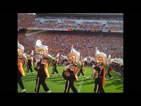 The Pride of the Southland Band rocks the crowd at Neyland Stadium