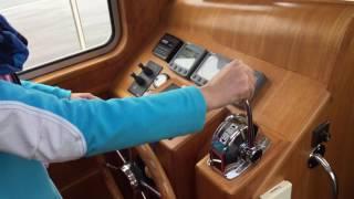 Instructie motorjacht: Manoeuvreren straatje keren met een motorjacht
