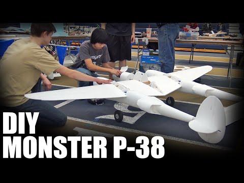 DIY Monster P-38 | Flite Test