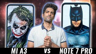 Mi A3 vs Redmi Note 7 Pro REAL Comparison - What Should YOU Buy?