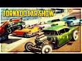 """GTA 5 Online """"TORNADO"""" THEMED CAR SHOW! (Best Customization & Paint Jobs)"""