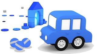 Cartoni Animati per Bambini - Macchinine Colorate - Colore Blu