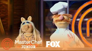 The Junior Chefs Are Excited About The Muppets | Season 5 Ep. 12 | MASTERCHEF JUNIOR