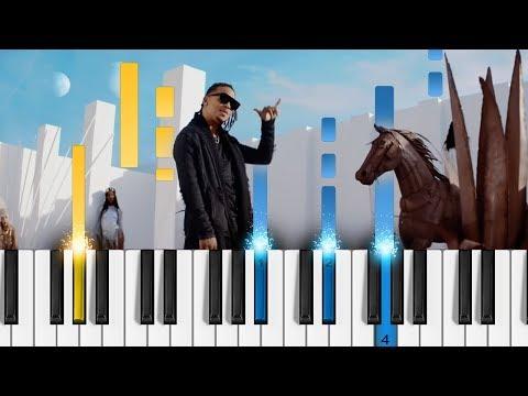 """Ozuna - BAILA BAILA BAILA - Piano Tutorial - Como tocar """"Baila Baila Baila"""" Mp3"""
