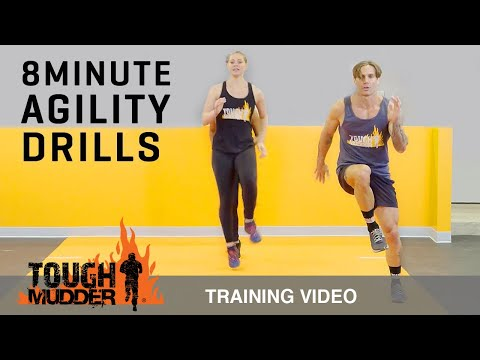 8 Min Agility Drills to Increase Speed and Endurance Ep. 4 | Tough Mudder