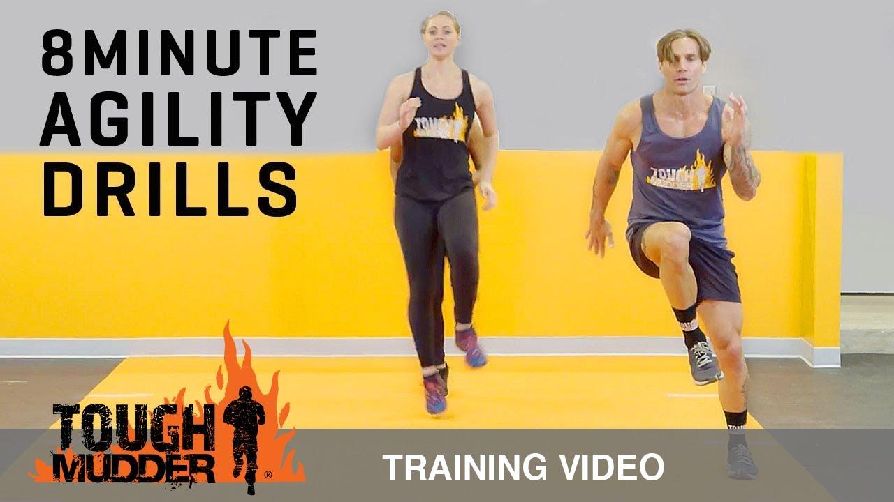 fat burning agility drills