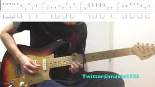【前前前世(リードギターTAB譜付き)】〜テンポ遅めなので練習用にどうぞ〜 thumbnail