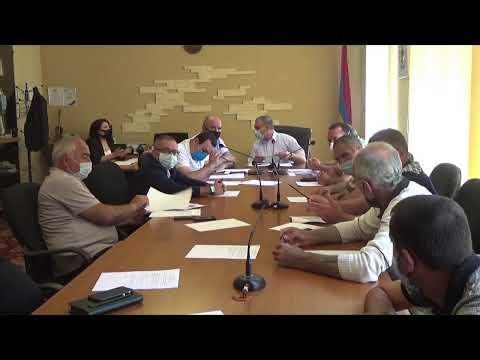 Սևան համայնքի ավագանու նիստ` 14.07.2020թ.