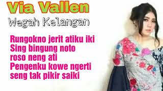 Via vallen wegah kelangan official video lirik