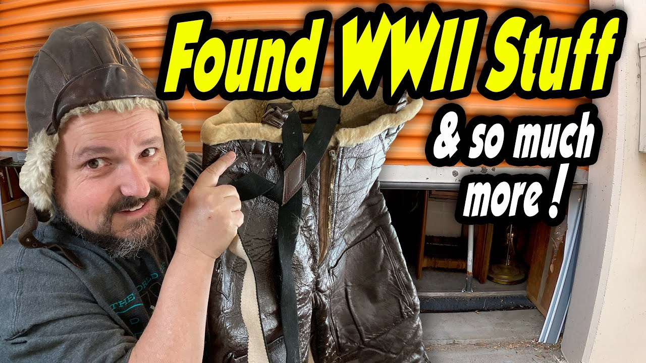 COLLECTOR'S DREAM! WWII items found in this locker bought for $1,661 at an abandoned storage auction