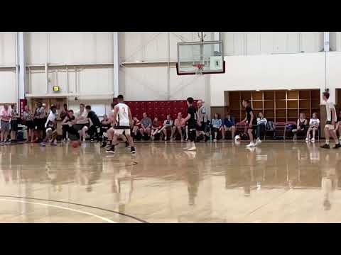 Tyson Roberts (Fr.) #10 University of Denver High School Varsity Team Camp Summer 2018