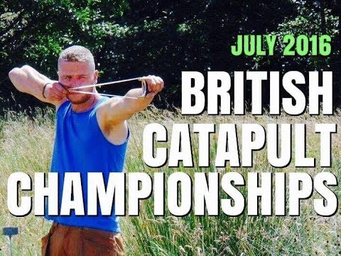 BRITISH CATAPULT CHAMPIONSHIPS, BIRMINGHAM, JULY 2016, SLINGSHOT SHOOTING