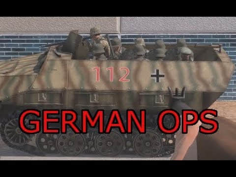 Germans back on the Front: Arma 3 Zeus German Iron Front Ops