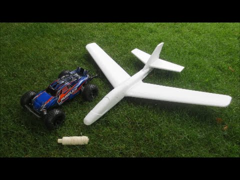 Will An RC Car Fly A Styrofoam Plane?