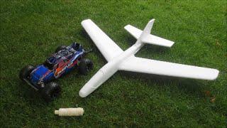 will an rc car fly a styrofoam plane
