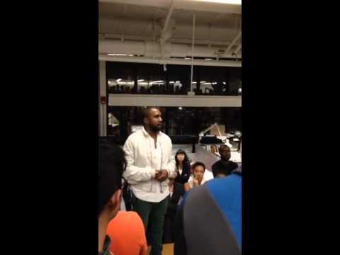 Kanye West Speaks at Harvard University - YouTube