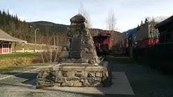 Craigellachie, British Columbia - Site of the Last Spike