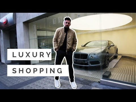 Luxury shopping London - How to Use it?