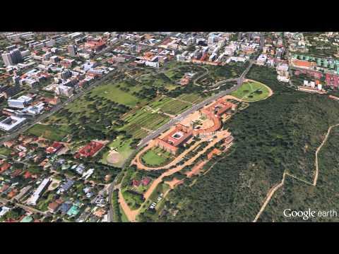 Google Earth/Digital Globe Union Buildings in Pretoria, South Africa