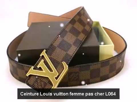 Les caractéristiques principales des ceintures louis vuitton sur  frceinture.com - YouTube e84800d604f