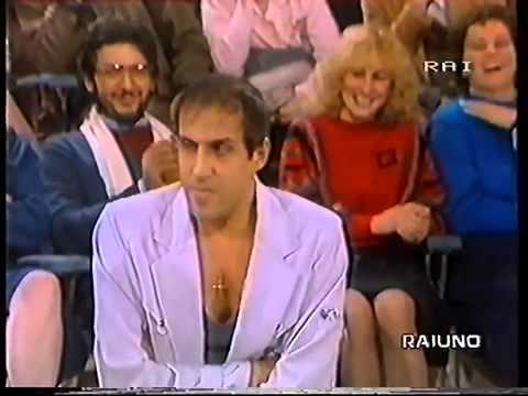 ADRIANO CELENTANO & PIPPO BAUDO  (PRIMA PAGINA - DOMENICA IN' 1983)