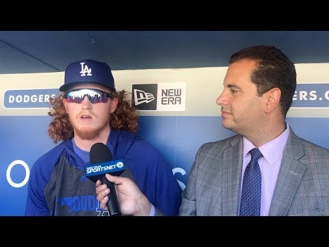 Dodgers prospect Dustin May talks trade rumors & MLB debut at Dodger Stadium